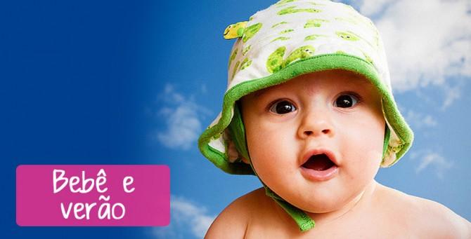 Bebê e verão: Como conciliar?