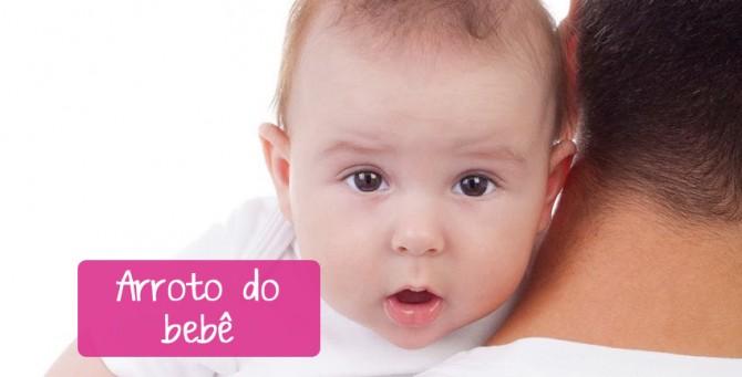 O arroto do bebê