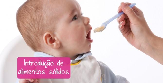 Introdução de alimentos na dieta do bebê