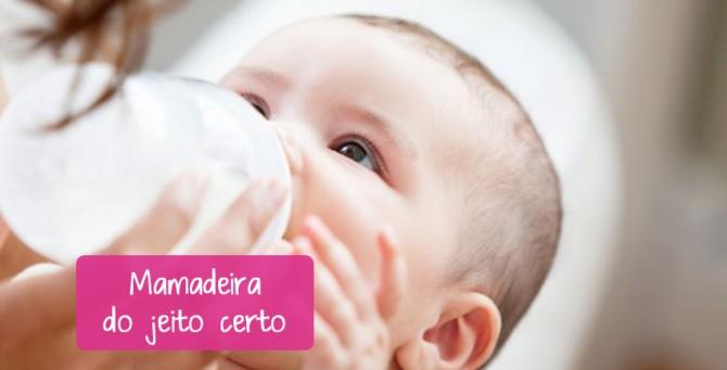 Dica para bebê desmamado: Como dar mamadeira do jeito certo