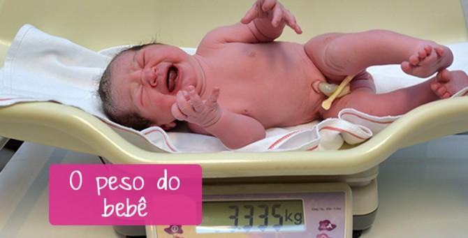 Peso dos bebês